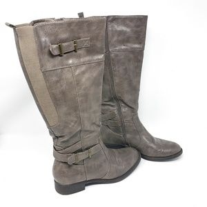 Relativity | Gray Manor Tall Riding Boots Size 7M